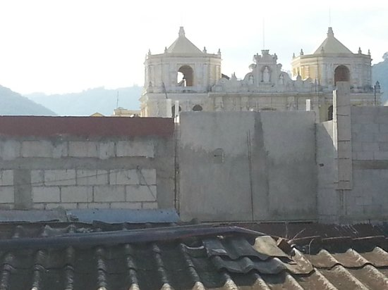 Posada La Merced Antigua: View from Roof