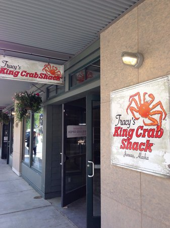 Tracy's King Crab Shack: Tracy's Storefront: currently under construction as of May 26, 2014.