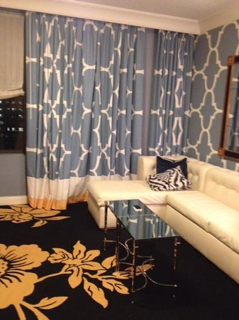 Astounding Sitting Room With Sleeper Sofa Picture Of Kimpton Hotel Creativecarmelina Interior Chair Design Creativecarmelinacom