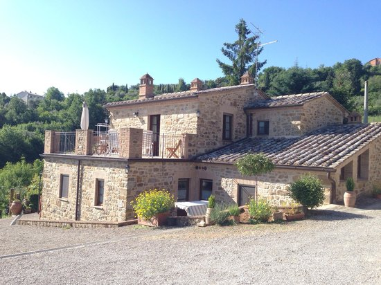 La Casella: Skøn lille perle ... I montalcino  Dejligt værts familie