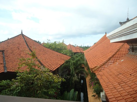 Bali Tropic Resort and Spa: View from room