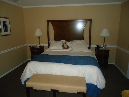 Danford's Hotel & Marina: Very nice bed and bedding - very comfortable