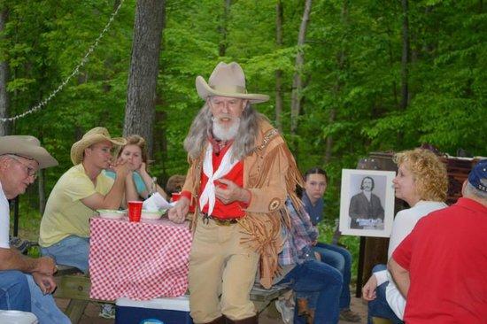 Rawhide Ranch: Campfire concert with Buffalo Bill