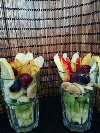 Cappucino House : Fruta fresca
