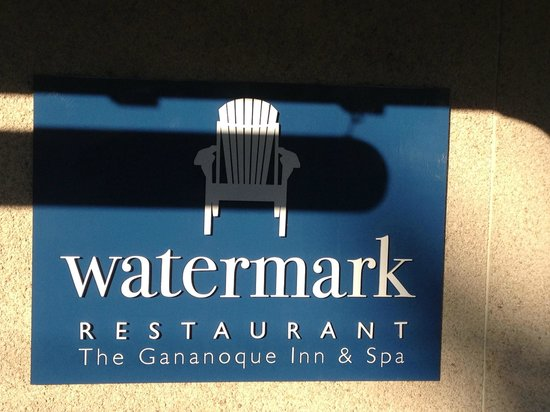 Watermark Restaurant at The Gananoque Inn : Delicious!