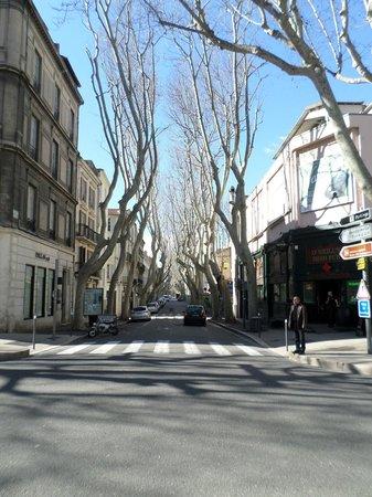 Rue de la Republique: inverno