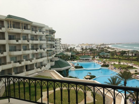 IBEROSTAR Royal El Mansour & Thalasso : view from our balcony
