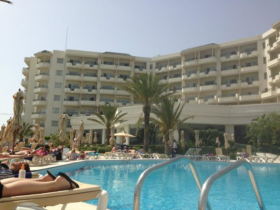 IBEROSTAR Royal El Mansour & Thalasso : view from the sun lounger