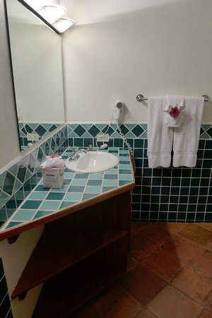 Jaguar Reef Lodge & Spa: Room 12 bathroom