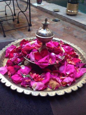 Riad Aubrac : Rose