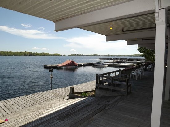 Thousand Islands Playhouse: Rear waterfront view