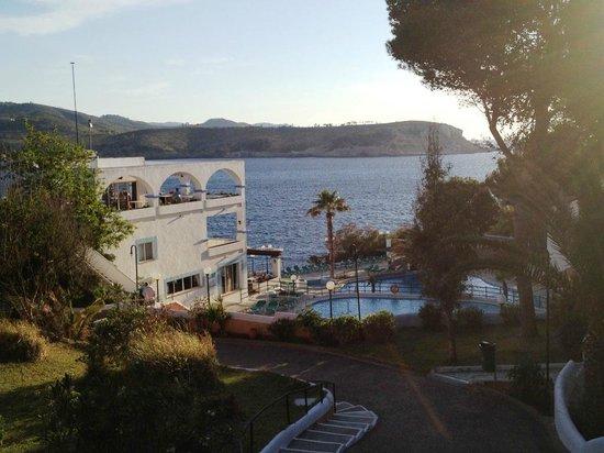 Club Vista Bahia: Vue de l'entrée...