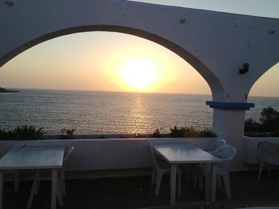 Club Vista Bahia: Vue de la terrasse du restaurant....