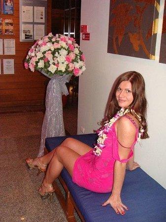 Cosy Beach Hotel : В холле корпуса 3*