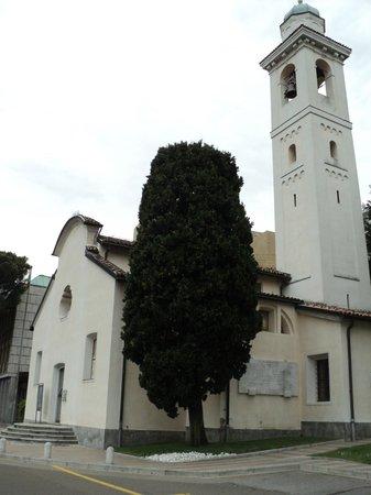 Campione d'Italia, Italy: Galleria Civica lato