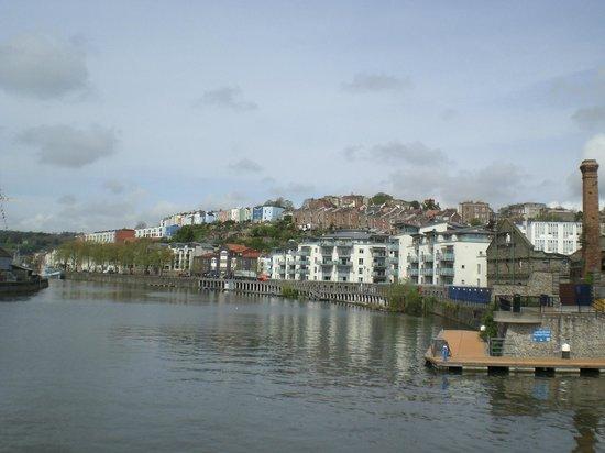 Bristol City Docks: View from the Bristol Dock