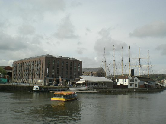 Bristol City Docks: More view from the Bristol Dock