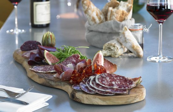 The Marker Hotel: Cured Meats sharing platter
