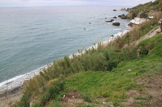 Baia delle Sirene Park Hotel: Вид с террассы отеля