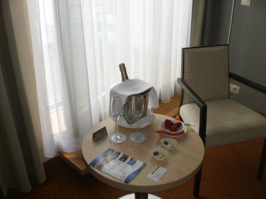 Aquapalace Hotel Prague: romantický balík