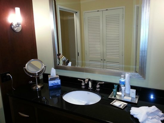 Hilton Houston Post Oak: Sink Area
