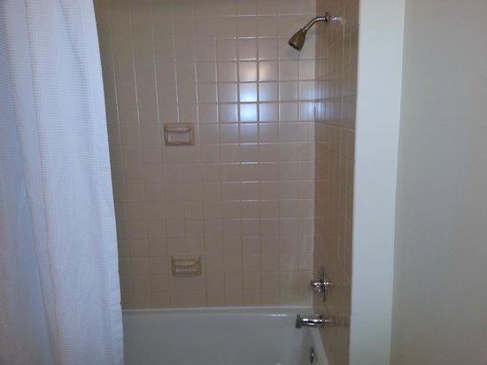 Hilton Houston Post Oak: Dated bath