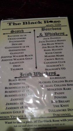 The Black Rose: Got Whisky?
