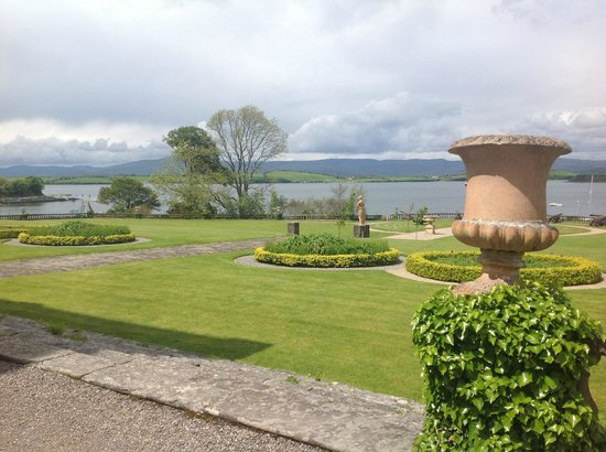 Bantry House & Garden: Bantry Bay from the Round Beds