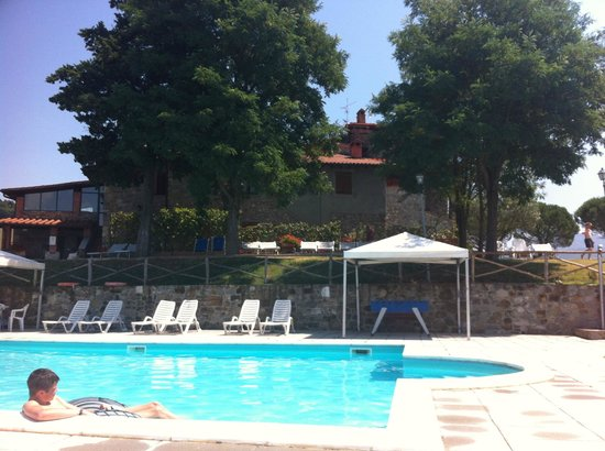 Agriturismo La Collina delle Stelle: View at the house