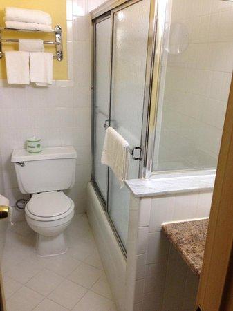 JFK Inn: Smallest Bathroom