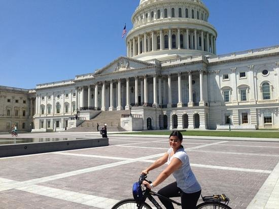 Bike and Roll DC: The capitol