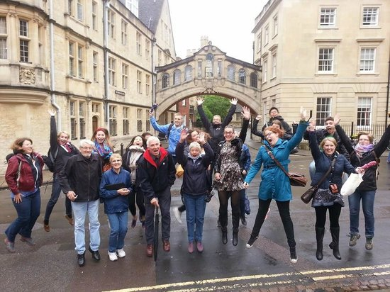 Footprints Tours Oxford : picture during the tour