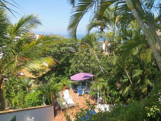 Casa de los Arcos: View from Casa Palapa