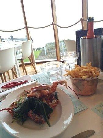 Hix Oyster & Fish House : fantastic lobster