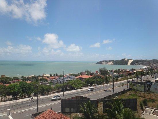 Ponta Negra Flat: Vista