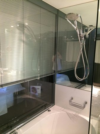 Sheraton Lisboa Hotel & Spa: Loved the bath/shower. It was large and luxurious.