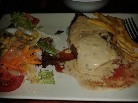 Cafe Guinness Restaurant: my steak