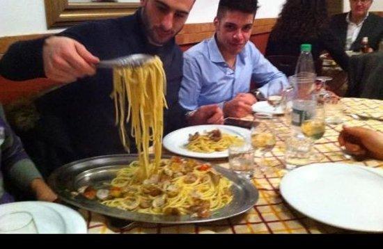 Ristorante Sant'Andrea: primo spaghetti e vongole