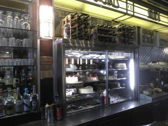 City Diner: Deserts.