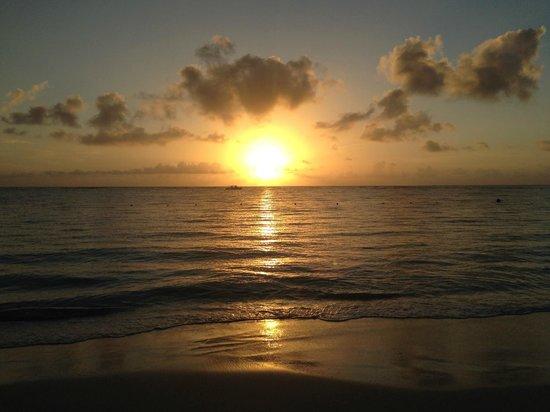 Now Larimar Punta Cana: Sunrise on the beach