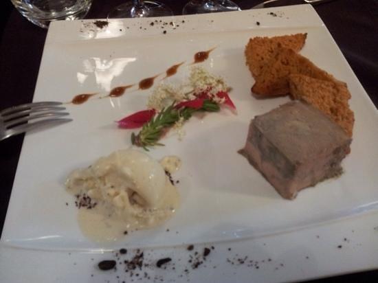 Restaurant Art et Galets: foie gras