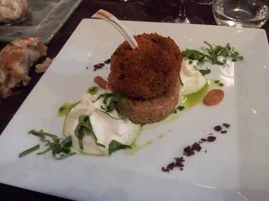 Restaurant Art et Galets: bonbon d'agneau