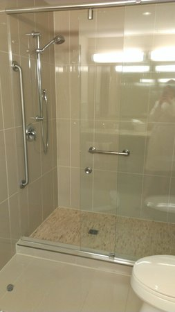 Comfort Hotel Bayer's Lake : Amazing shower head!! Works for short or tall people!!