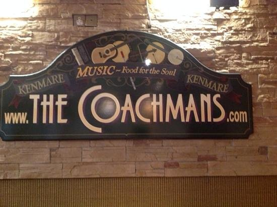The Coachman's Bar & Restaurant: inside the Coachman's
