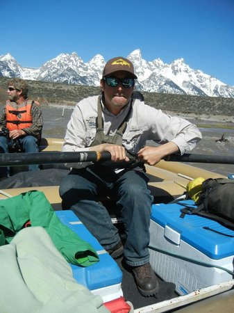 Grand Teton Lodge Company Tours: Our awesome river guide