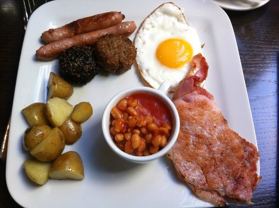 Hotel Isaacs Cork: Superb cooked breakfast