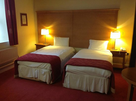 Hotel Isaacs Cork: Comfortable beds