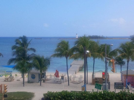 Junkanoo Beach Resort: View from the room