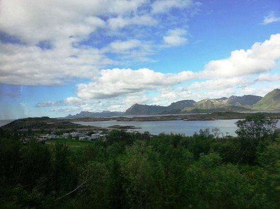 Lofoten Island: Baía e aldeia