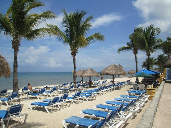 Allegro Cozumel: Part of the beach